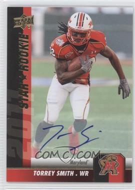 2011 Upper Deck - [Base] - Gold Autographs [Autographed] #58 - Torrey Smith