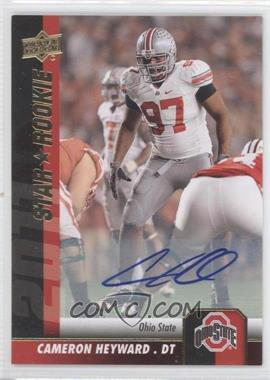 2011 Upper Deck - [Base] - Gold Autographs [Autographed] #66 - Cameron Heyward