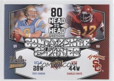 2011 Upper Deck - Conference Clashes #CC-7 - Charles White, Troy Aikman
