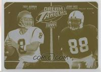 Jerry Rice, Troy Aikman /1
