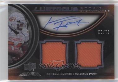 2011 Upper Deck Black - Lustrous Rookie Signatures Memorabilia - [Autographed] #13 - Kendall Hunter /75