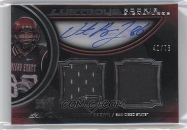 2011 Upper Deck Black - Lustrous Rookie Signatures Memorabilia - [Autographed] #21 - Vincent Brown /75