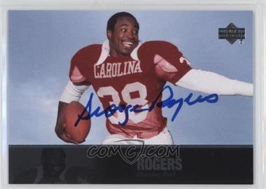 2011 Upper Deck College Football Legends - [Base] - Autographs [Autographed] #23 - George Rogers