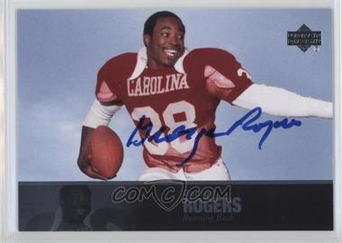 2011 Upper Deck College Football Legends - [Base] - Autographs [Autographed] #23 - George Rogers