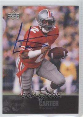 2011 Upper Deck College Football Legends - [Base] - Autographs [Autographed] #53 - Cris Carter