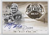 Billy Sims #/80