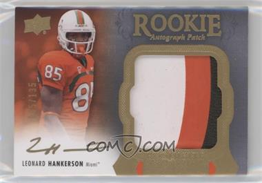 2011 Upper Deck Exquisite Collection - [Base] #125 - Leonard Hankerson /135