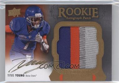 2011 Upper Deck Exquisite Collection - [Base] #133 - Titus Young /135