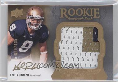 2011 Upper Deck Exquisite Collection - [Base] #143 - Kyle Rudolph /135