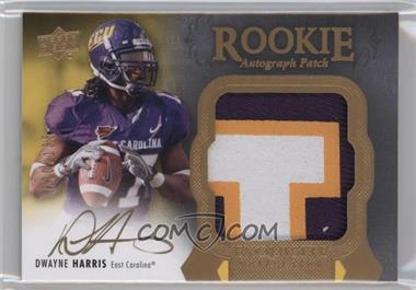 2011 Upper Deck Exquisite Collection - [Base] #148 - Dwayne Harris /135