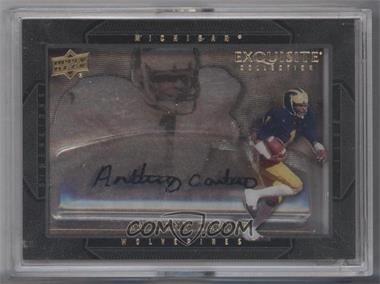 2011 Upper Deck Exquisite Collection - Dimensions #D-AC - Anthony Carter