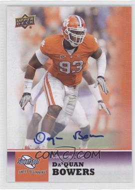 2011 Upper Deck Sweet Spot - [Base] - Autographs [Autographed] #9 - Da'Quan Bowers