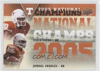 Vince Young, Jamaal Charles