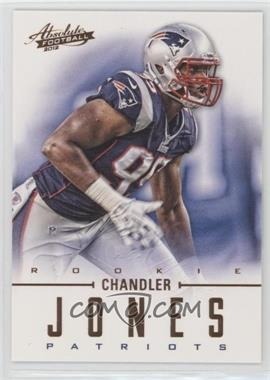 2012 Absolute - [Base] - Retail #114 - Rookies - Chandler Jones /399