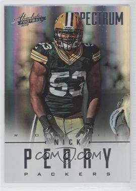 2012 Absolute - [Base] - Spectrum Silver #173 - Nick Perry /50