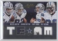 Dez Bryant, Miles Austin, Jason Witten, Tony Romo #/50
