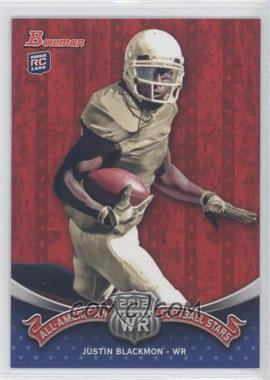 2012 Bowman - All-American Football Stars #BAA-JB - Justin Blackmon