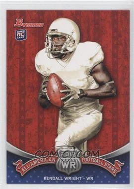 2012 Bowman - All-American Football Stars #BAA-KW - Kendall Wright