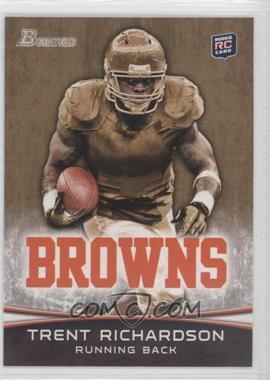 2012 Bowman - [Base] - Gold #120 - Trent Richardson