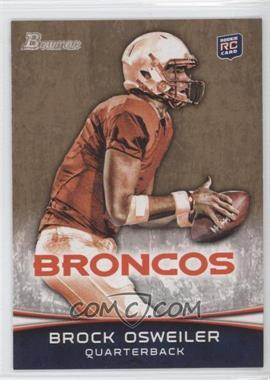 2012 Bowman - [Base] - Gold #121 - Brock Osweiler