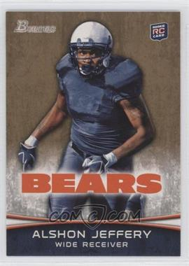 2012 Bowman - [Base] - Gold #137 - Alshon Jeffery