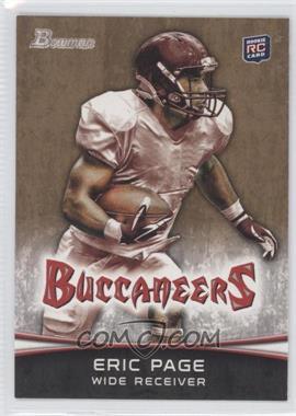 2012 Bowman - [Base] - Gold #141 - Eric Page