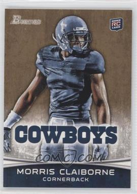 2012 Bowman - [Base] - Gold #160 - Morris Claiborne