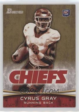 2012 Bowman - [Base] - Gold #165 - Cyrus Gray