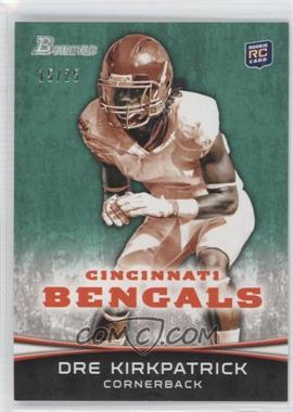 2012 Bowman - [Base] - Green #185 - Dre Kirkpatrick /25