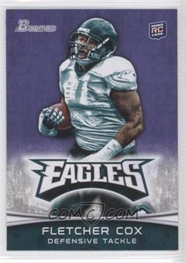2012 Bowman - [Base] - Purple #101 - Fletcher Cox