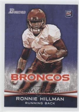 2012 Bowman - [Base] - Purple #112 - Ronnie Hillman