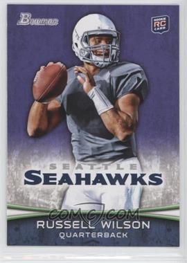 2012 Bowman - [Base] - Purple #116 - Russell Wilson