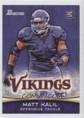 2012 Bowman - [Base] - Purple #128 - Matt Kalil