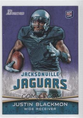 2012 Bowman - [Base] - Purple #130 - Justin Blackmon