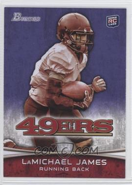 2012 Bowman - [Base] - Purple #132 - LaMichael James