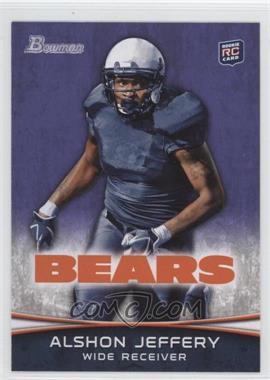 2012 Bowman - [Base] - Purple #137 - Alshon Jeffery