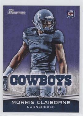 2012 Bowman - [Base] - Purple #160 - Morris Claiborne