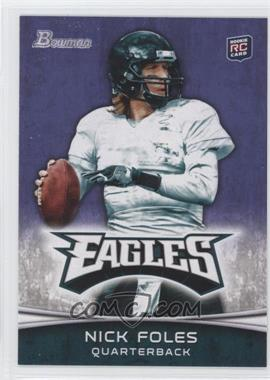 2012 Bowman - [Base] - Purple #171 - Nick Foles