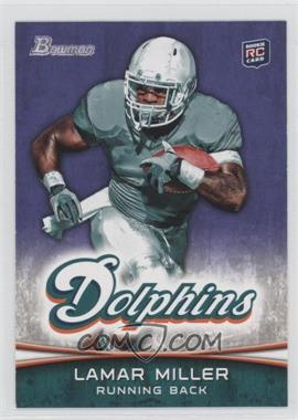 2012 Bowman - [Base] - Purple #174 - Lamar Miller