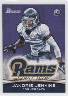 2012 Bowman - [Base] - Purple #178 - Janoris Jenkins