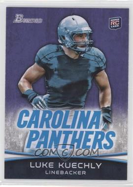 2012 Bowman - [Base] - Purple #190 - Luke Kuechly