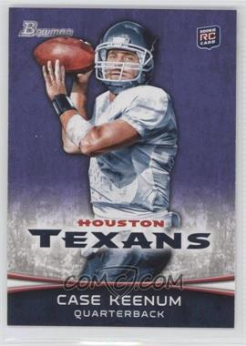 2012 Bowman - [Base] - Purple #196 - Case Keenum
