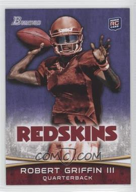 2012 Bowman - [Base] - Purple #200 - Robert Griffin III