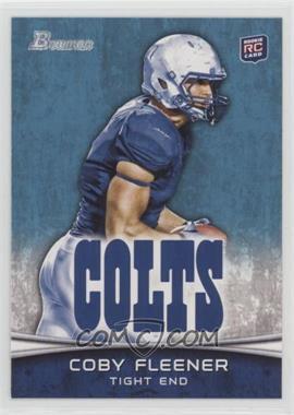 2012 Bowman - [Base] #113.2 - Coby Fleener (Horizontal Football)