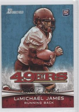 2012 Bowman - [Base] #132.1 - LaMichael James (White Jersey)