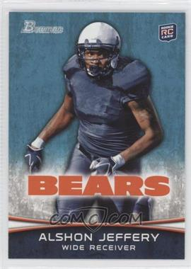 2012 Bowman - [Base] #137.1 - Alshon Jeffery (Facing Front)