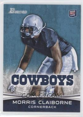 2012 Bowman - [Base] #160.2 - Morris Claiborne (Bent at Waist)