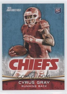 2012 Bowman - [Base] #165.2 - Cyrus Gray (Red Jersey)