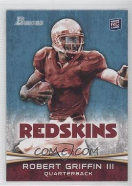 2012 Bowman - [Base] #200.2 - Robert Griffin III (Stiff-Arming)