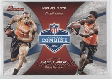 2012 Bowman - Combine Competition #CC-FW - Michael Floyd, Kendall Wright